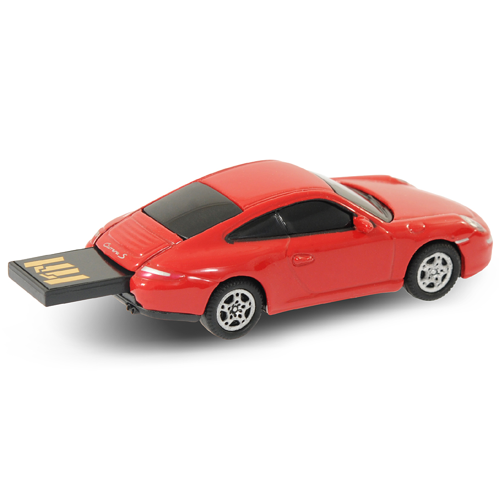 official porsche 911 car usb memory stick 4gb red ebay. Black Bedroom Furniture Sets. Home Design Ideas