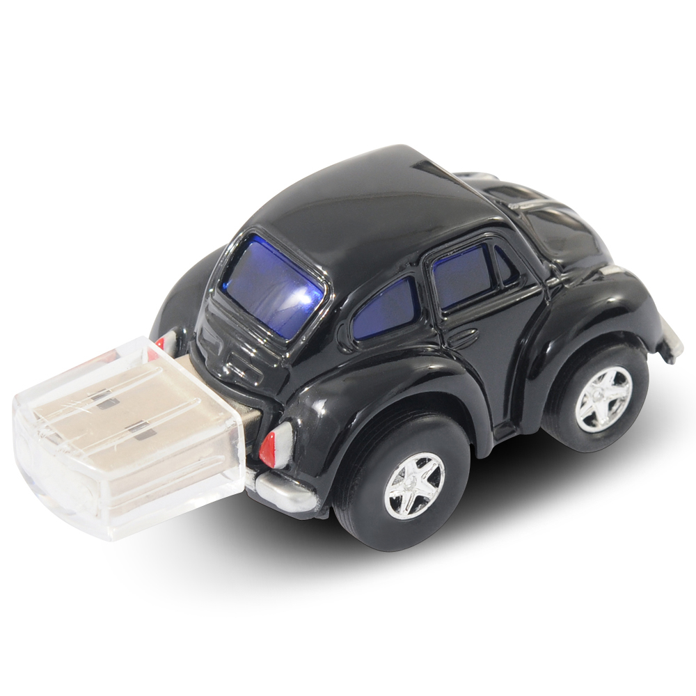 official classic vw beetle car usb memory stick 4gb black. Black Bedroom Furniture Sets. Home Design Ideas