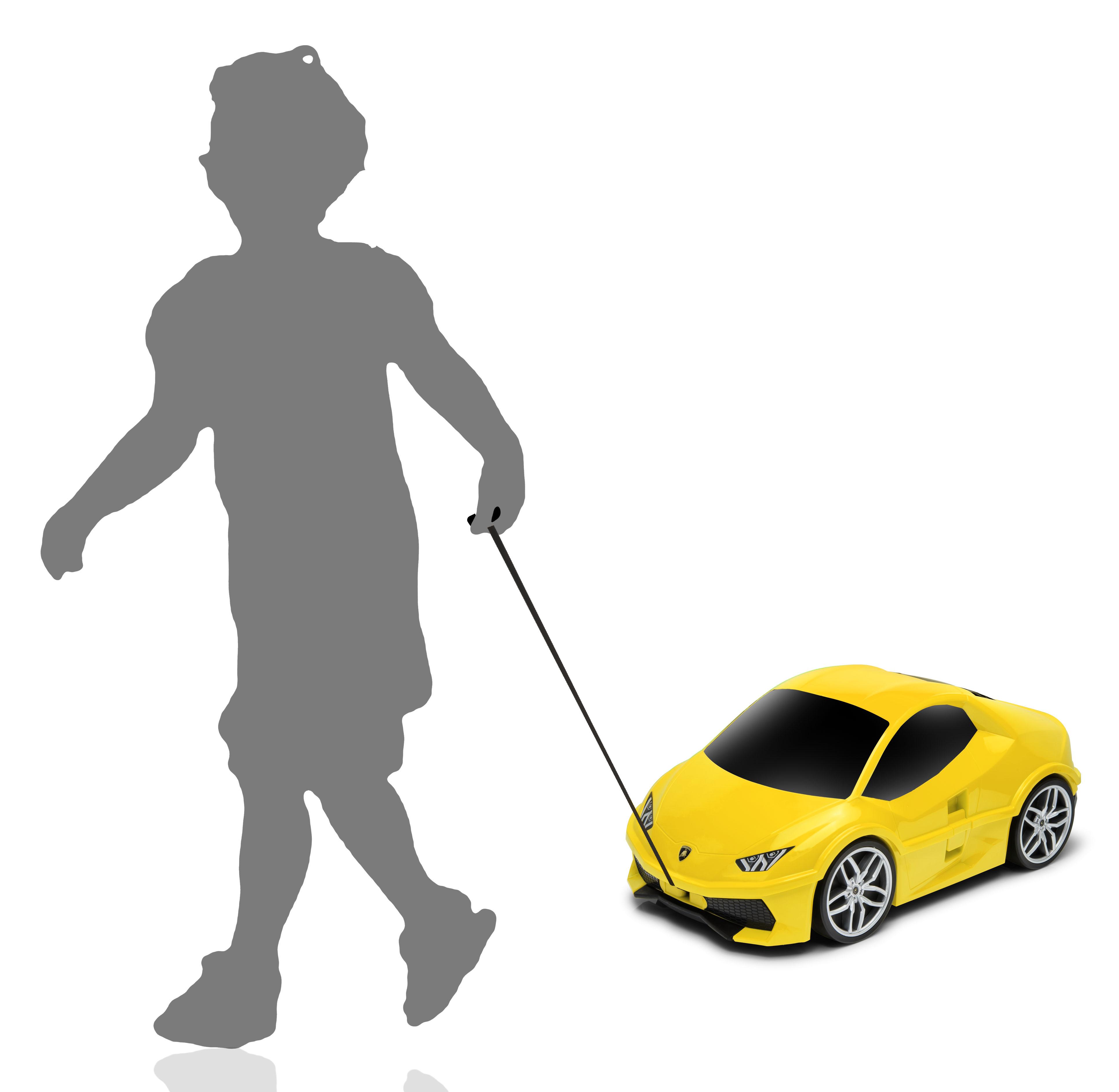 Official Lamborghini Huracan Car Kids Pull-Along Case / Travel ...