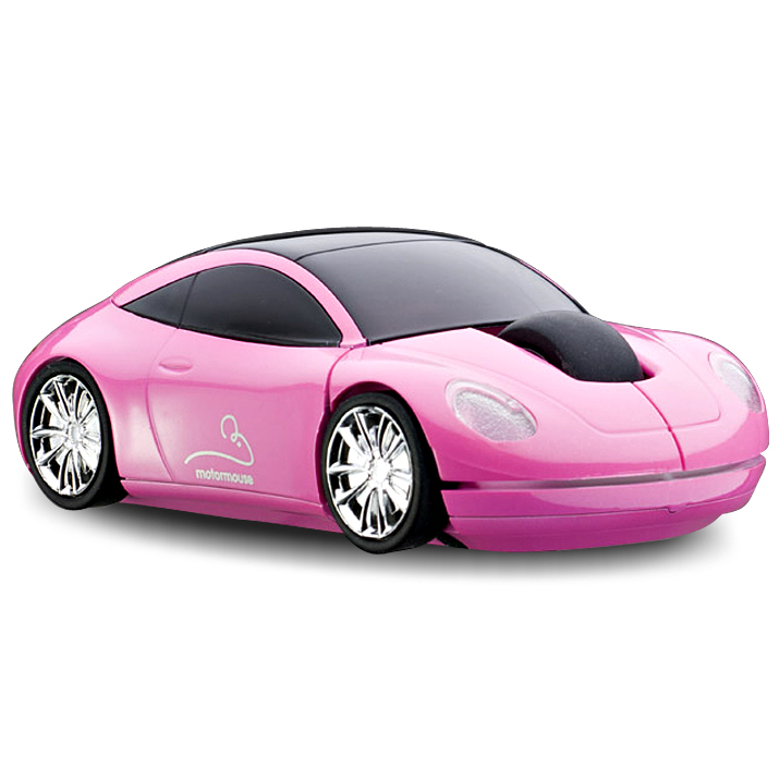 motormouse moteur voiture souris d 39 ordinateur sans fil rose ebay. Black Bedroom Furniture Sets. Home Design Ideas