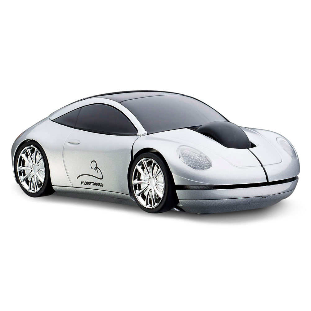 officiel motormouse automobile souris d 39 ordinateur sans fil argent ebay. Black Bedroom Furniture Sets. Home Design Ideas