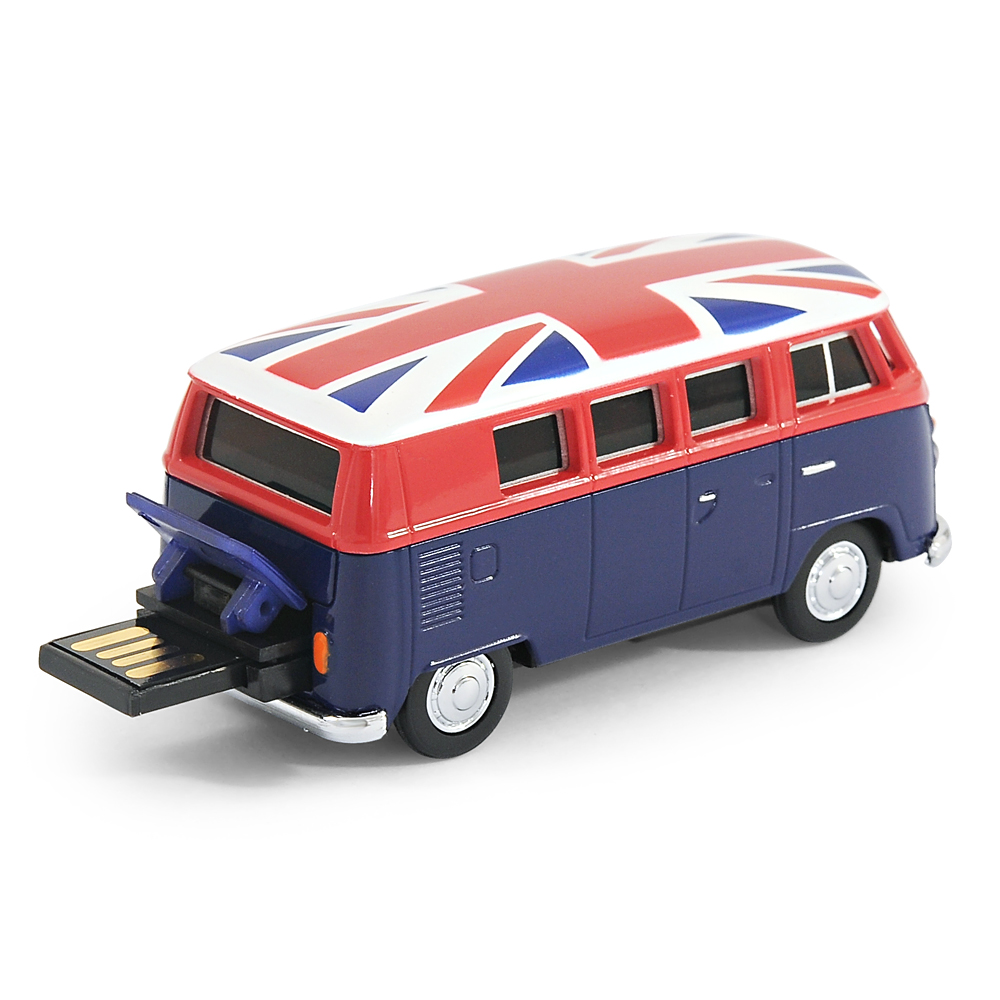 official vw camper van bus usb memory stick 8gb blue. Black Bedroom Furniture Sets. Home Design Ideas