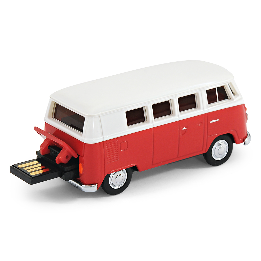 official vw camper van bus usb memory stick 8gb red ebay. Black Bedroom Furniture Sets. Home Design Ideas