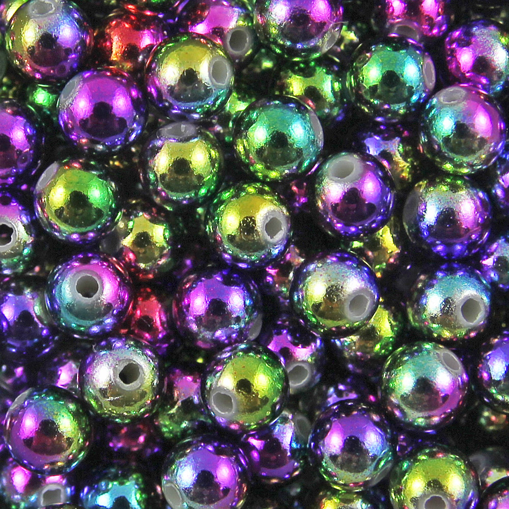50-to-400-Metallic-Coloured-Acrylic-Round-Spacer-Beads-4mm-6mm-8mm-amp-10mm