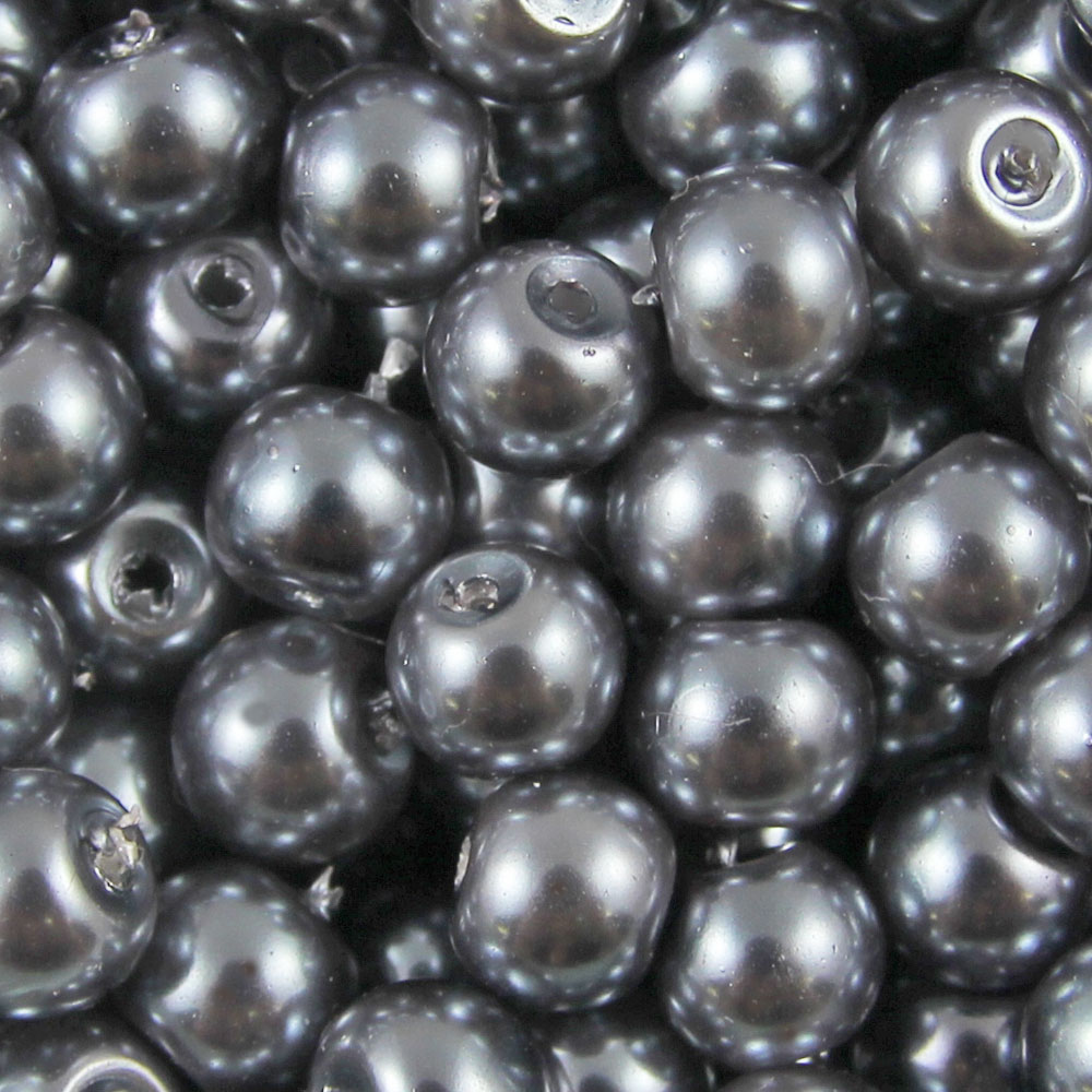 GLASS-PEARL-Round-BEADS-400x4mm-200x6mm-100x8mm-50x10mm-20x12mm