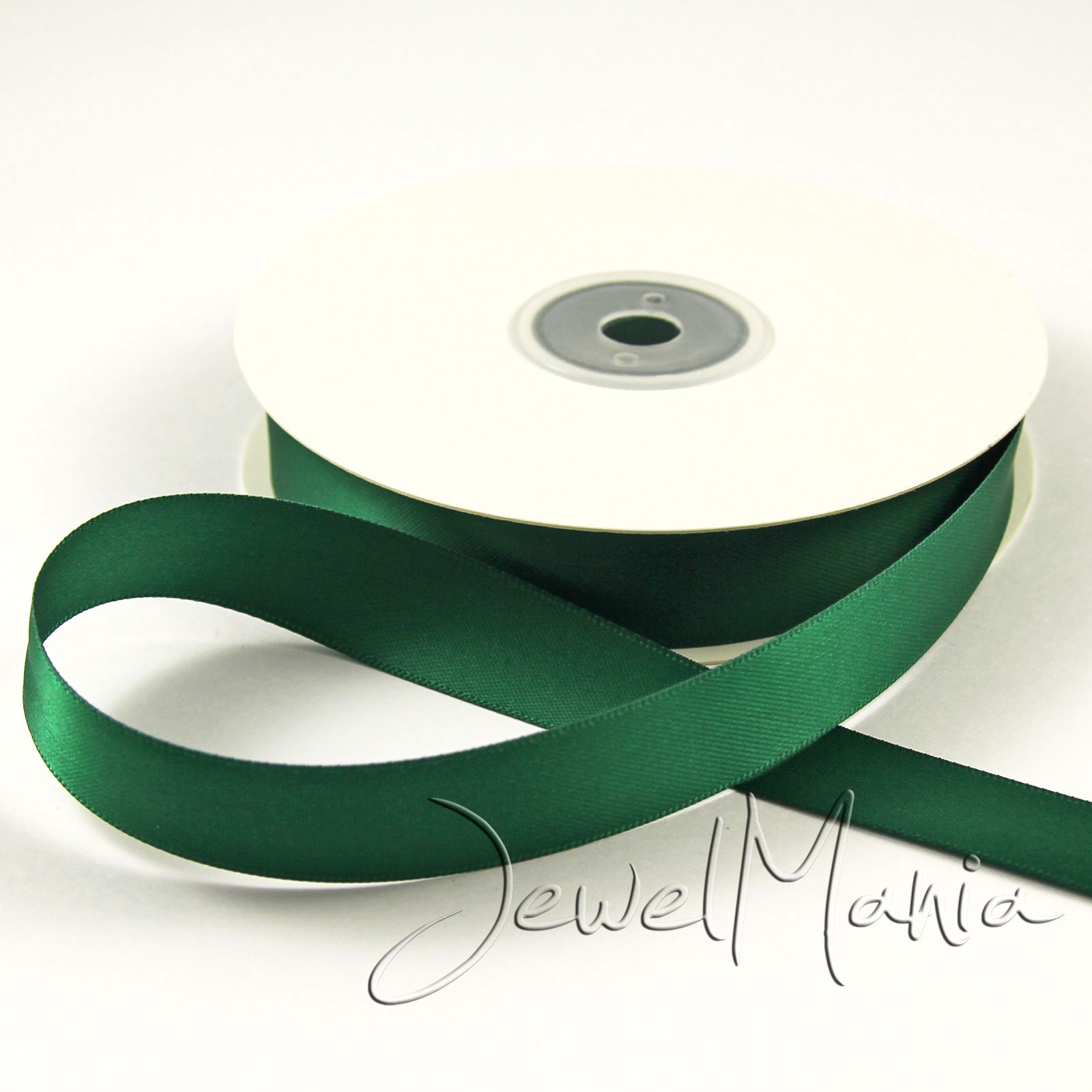 Full-Reel-25-Metres-Of-15mm-Double-Faced-Sided-Satin-Ribbon-Rolls-Many-Colours