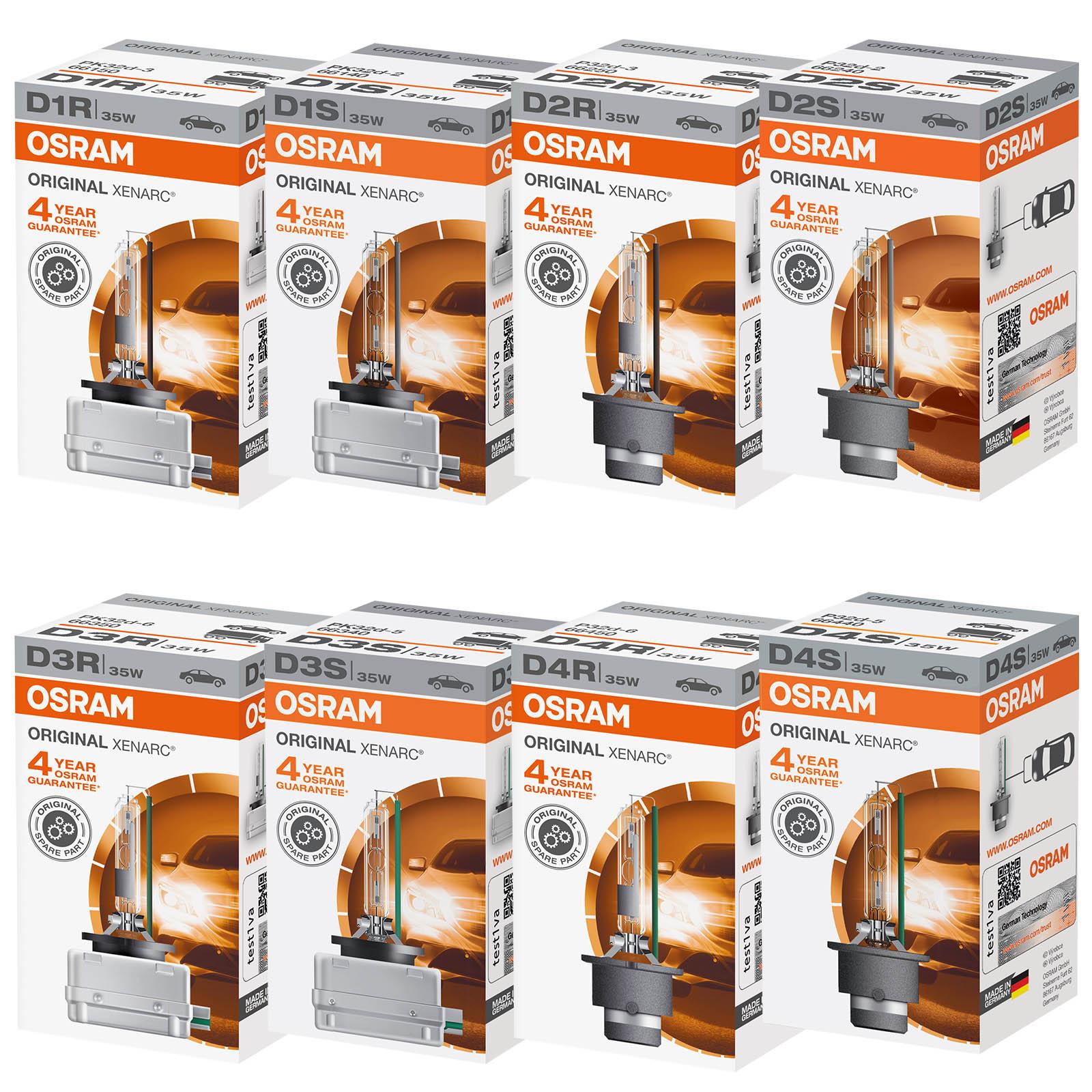 Osram Xenarc Original Line Standard Replacement HID Bulbs - All Fittings