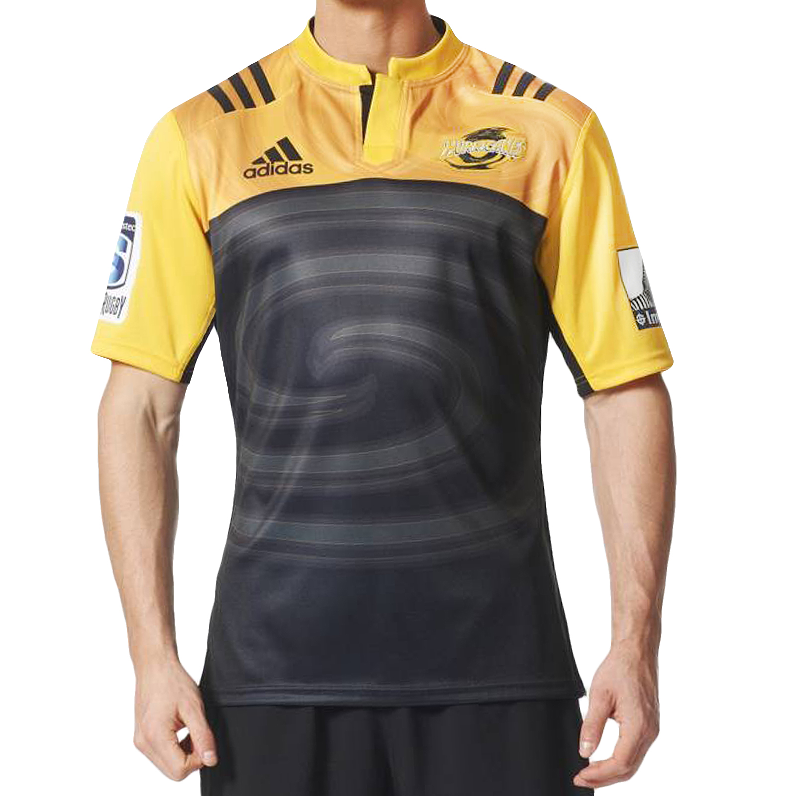 Adidas Rugby Home: Adidas Performance Mens Wellington Hurricanes Home Rugby