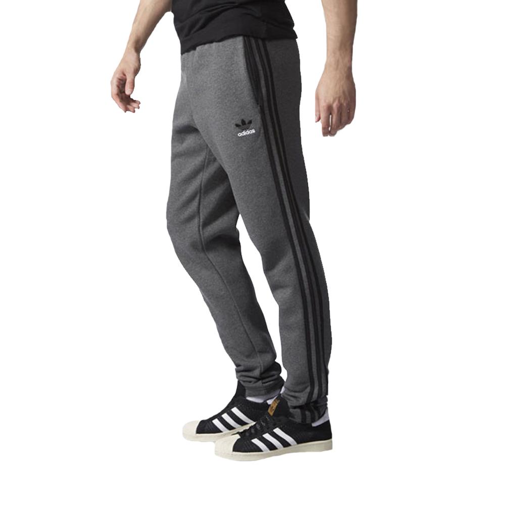 adidas Originals Mens 3 Stripe Sweat Pants Open Hem Jogging Bottoms ... 9ee6216c7
