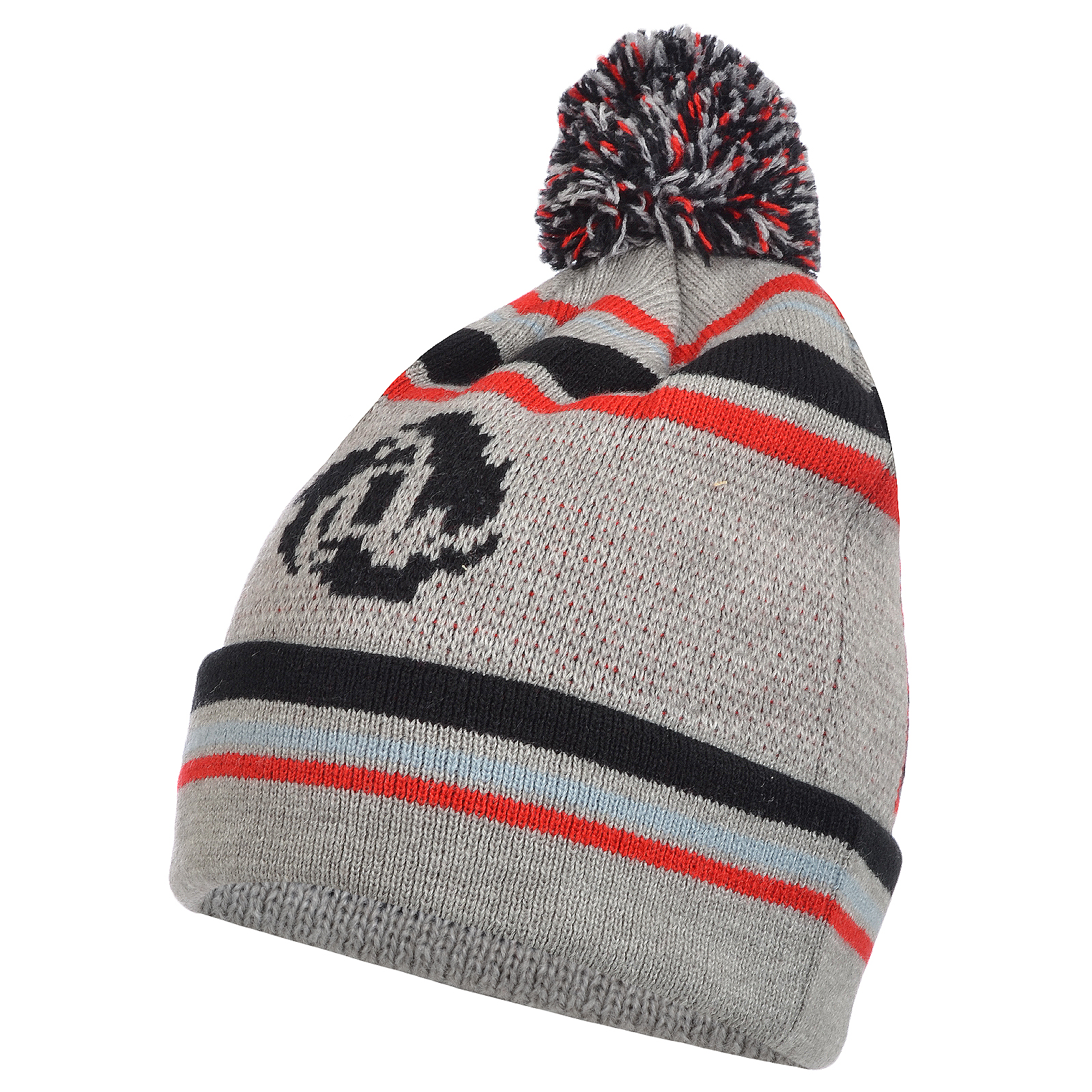 adidas mens derrick rose ballie nba winter beanie pom pom
