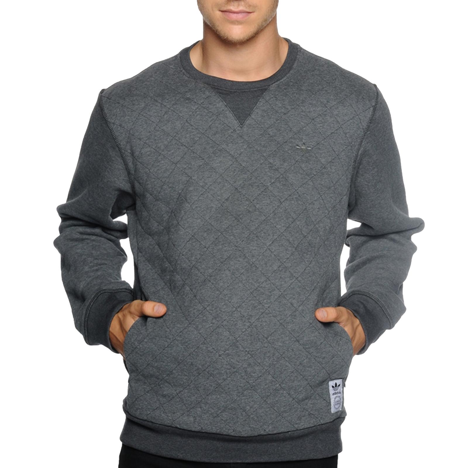 adidas originals quilted crew sweatshirt
