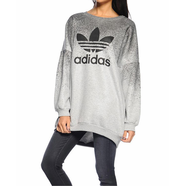 adidas sweater womens Grey