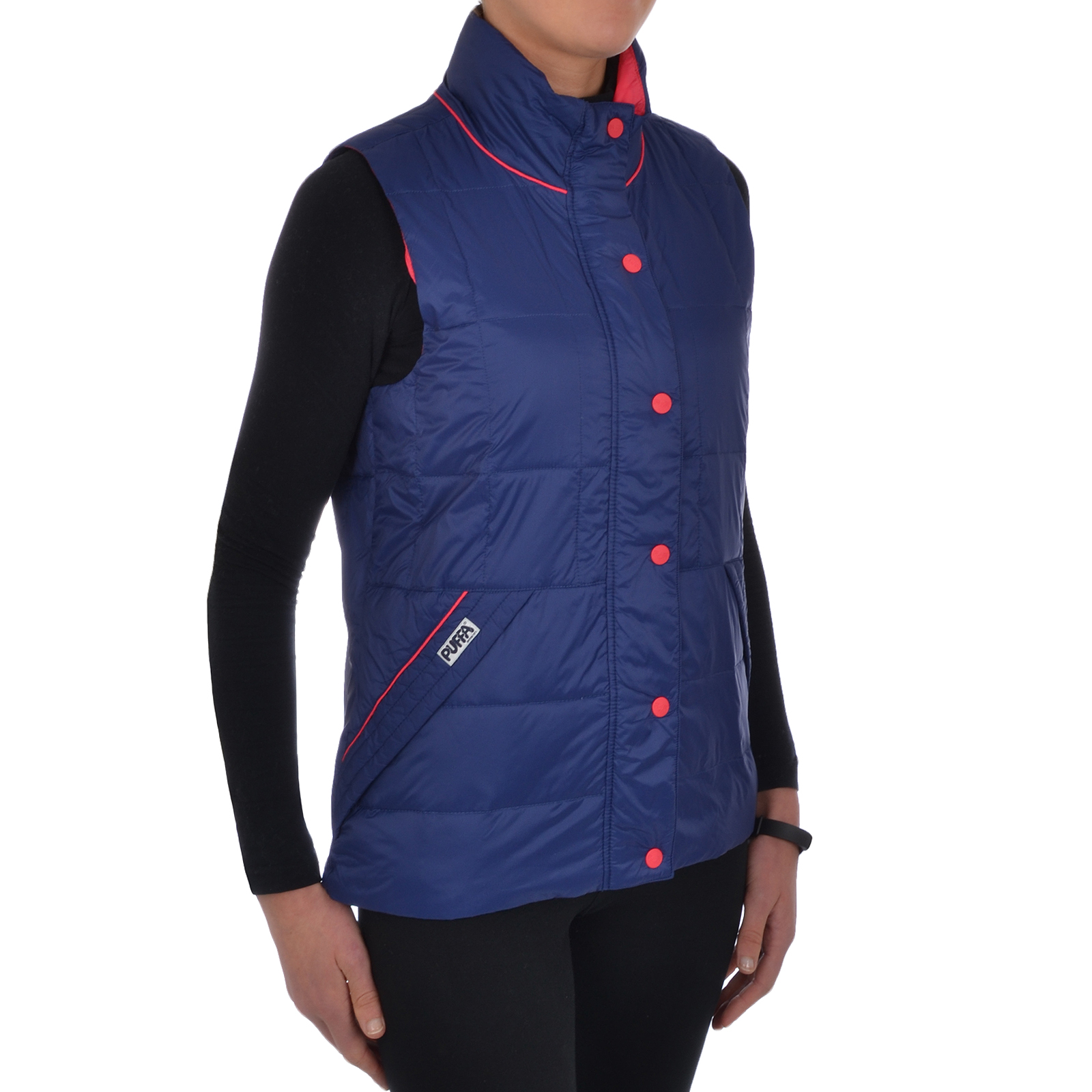Puffa Womens Quilted Gilet Lightweight Down Bodywarmer