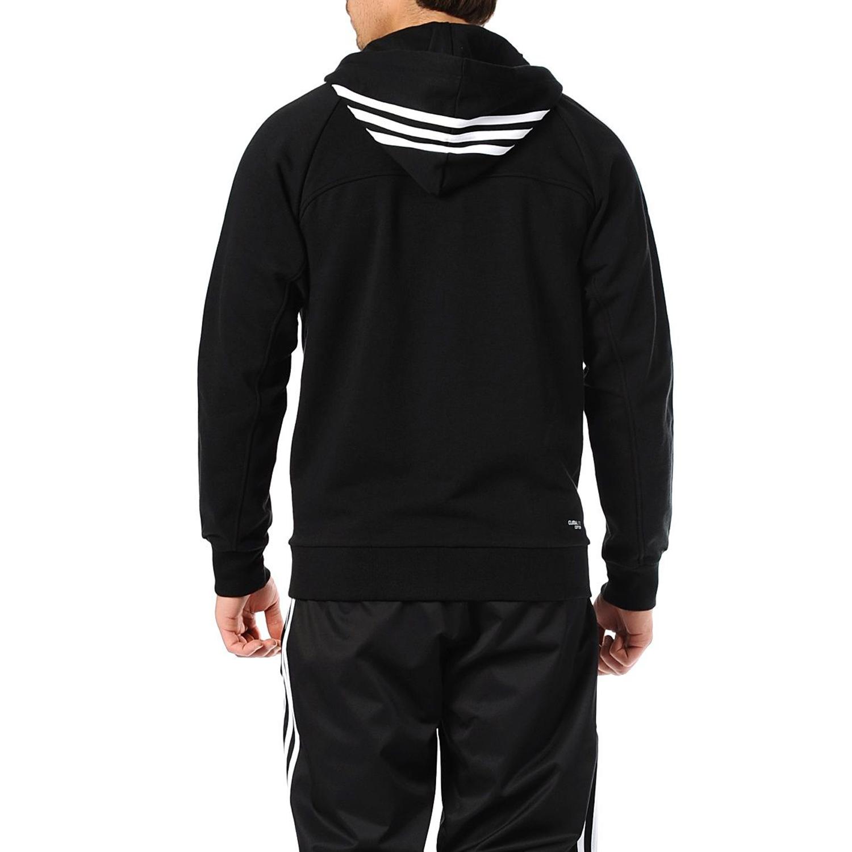 Mens striped hoodie