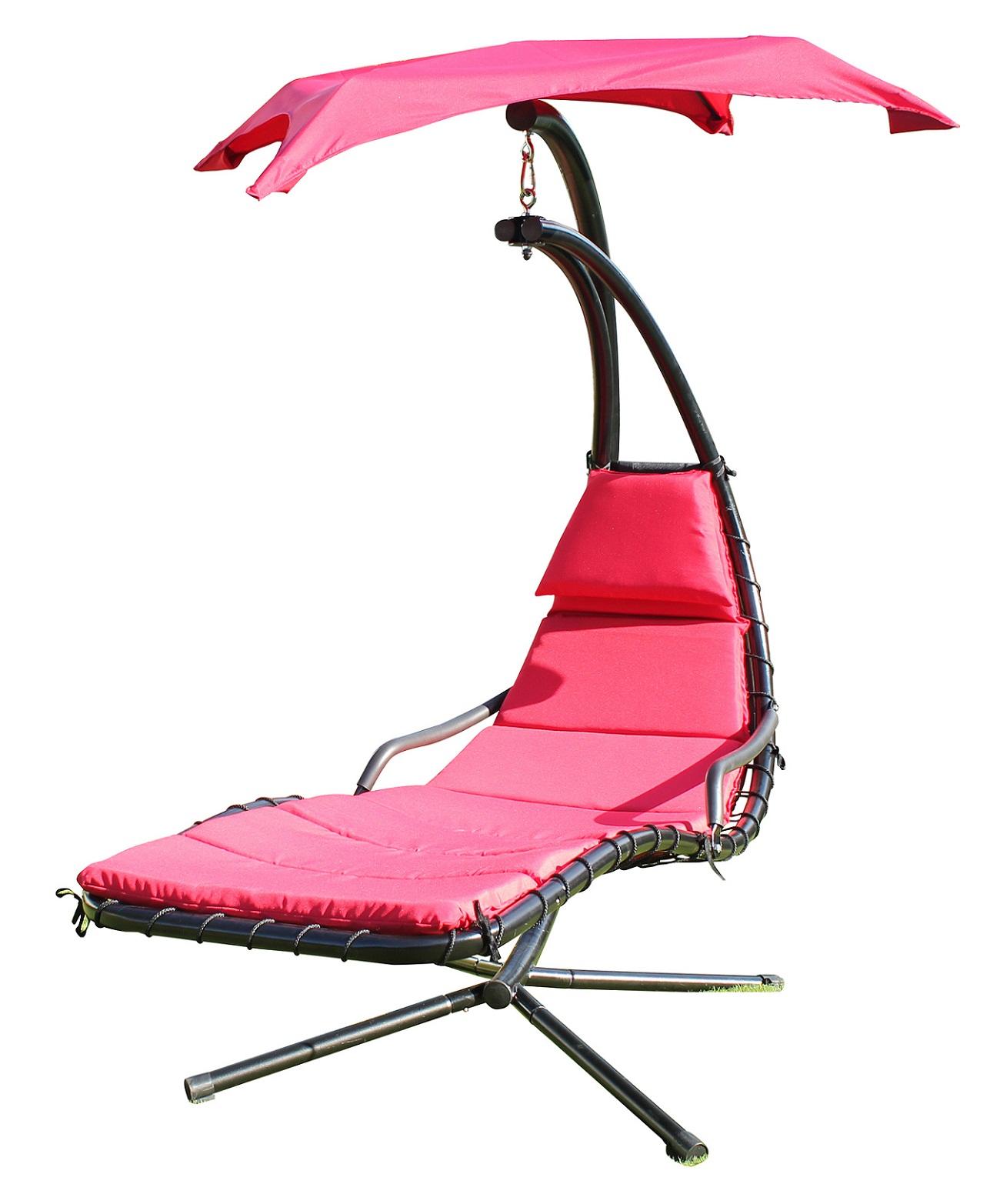 leco schwingliege verschiedene farben sonnenliege gartenliege liege ebay. Black Bedroom Furniture Sets. Home Design Ideas