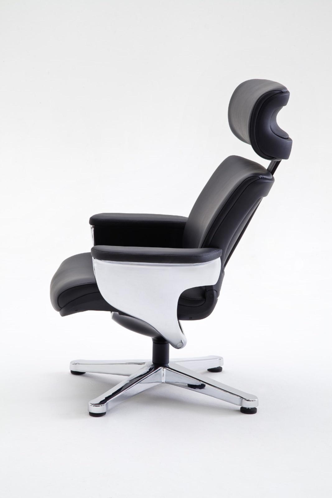 relax sessel favorite mit hocker rindsleder relaxsessel fernsehsessel leder ebay. Black Bedroom Furniture Sets. Home Design Ideas