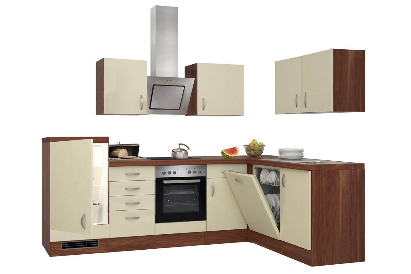 Flex-Well Winkelküche G-999-2803-052, Küchenblock, Eckküche, Küche ...
