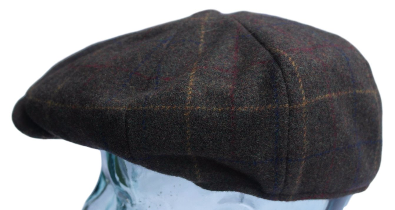 413e448dbbba Details about Victorian style peaky baker boy newsboy Gatsby Brooklands brown  cap - Large