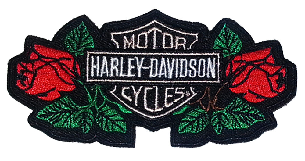 IRON ON PATCH DIFFERENT AVAILABLE HARLEY DAVIDSON MOTORCYCLE  NEW /& USED  SEW