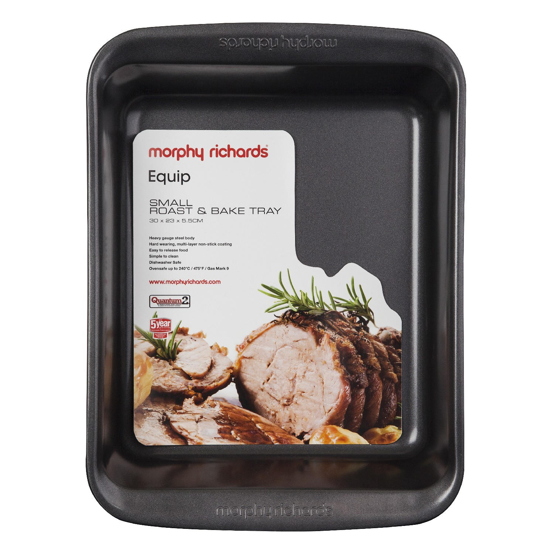Morphy Richards 970501 aluminised Steel rosbif /& Bake Small Graphite Bakeware New