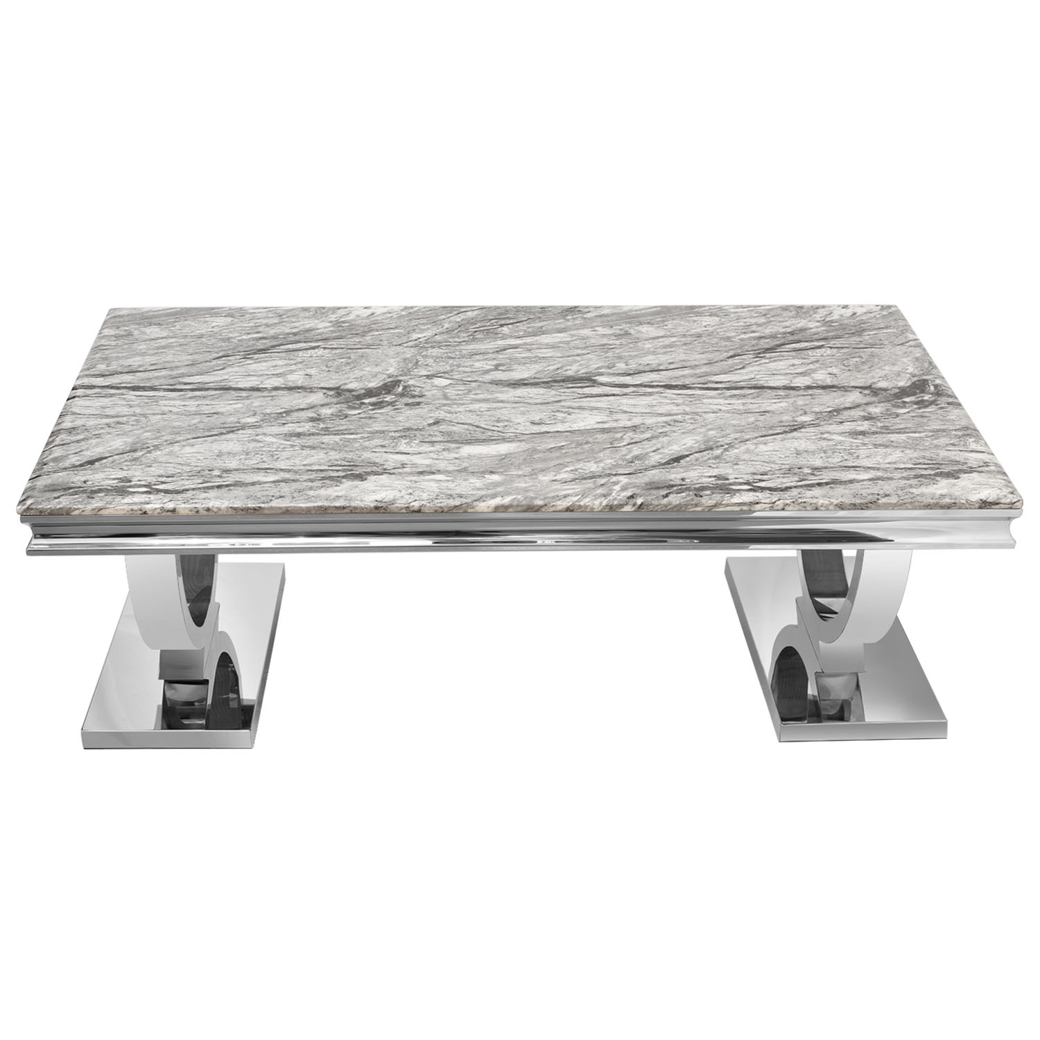 Awe Inspiring Details About Modern Cream Grey Marble Top Coffee Table Desk Home Living Room Furniture Set Squirreltailoven Fun Painted Chair Ideas Images Squirreltailovenorg