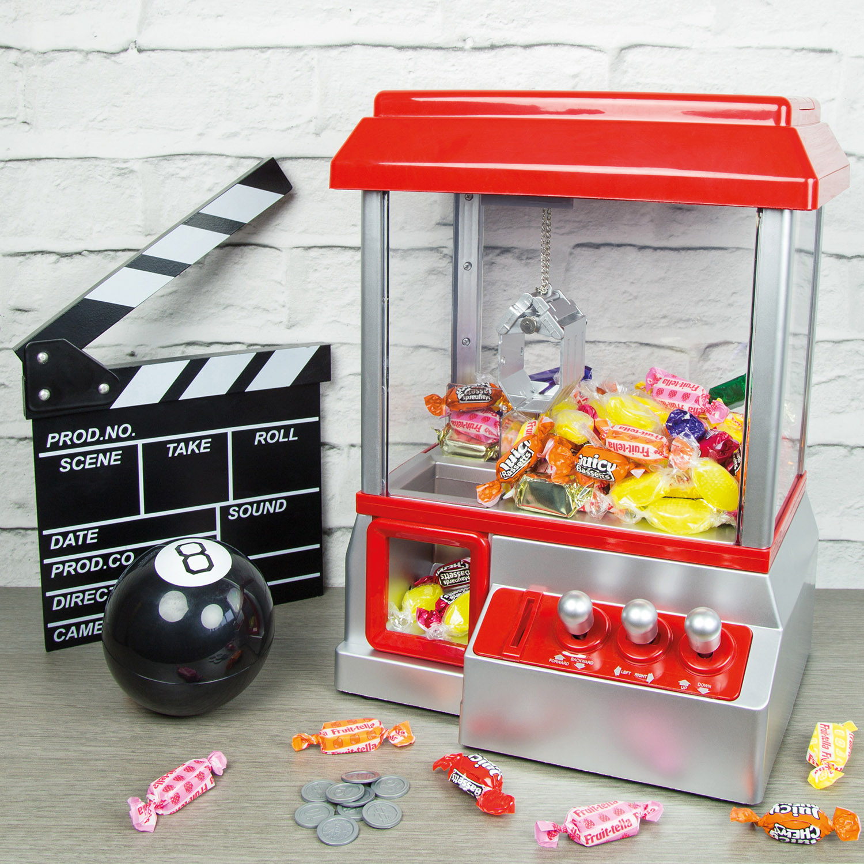 Elgento E26013 Candy Grabber Desktop Sweet Treat Retro Arcade Joystick Machine