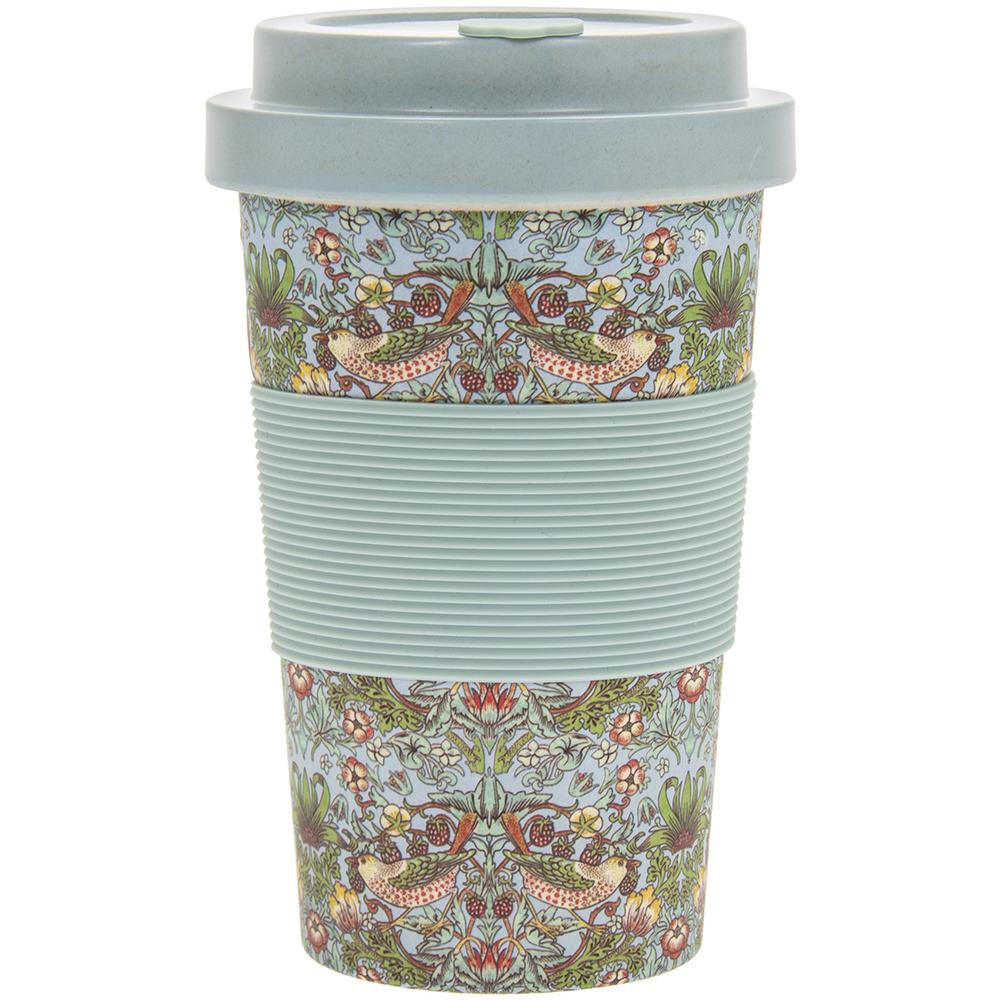 William Morris snakeshead 350 ml Réutilisable Bambou Fibre Tasse à Café Thé Tasse de voyage