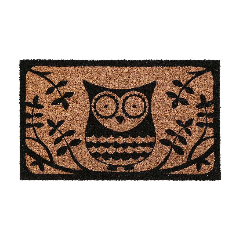 Naturel-Coco-Bienvenue-Sol-Entree-Antiderapant-Porte-Tapis-interieur-exterieur-Doormats