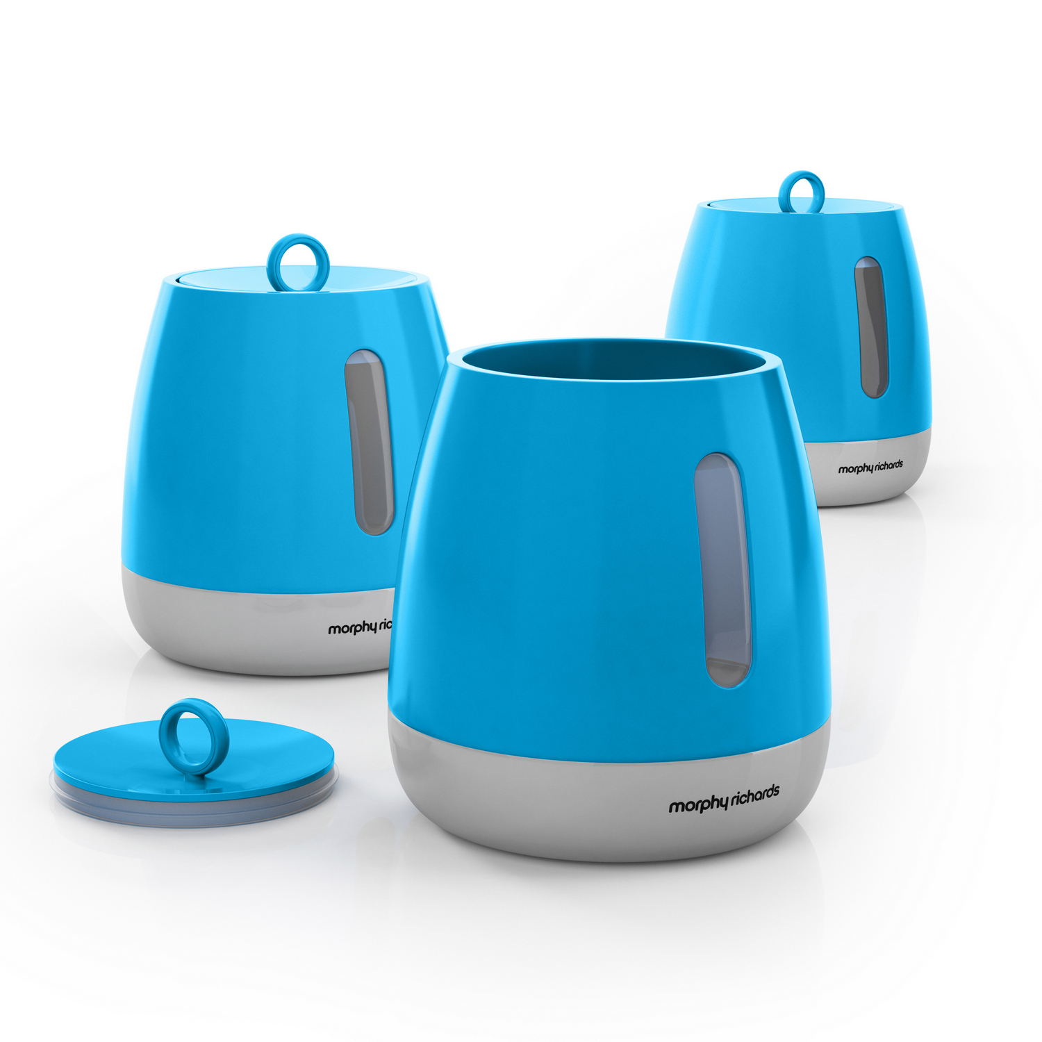 Morphy Richards Towel Pole: Morphy Richards Chroma Bread Bin Storage Canisters Towel