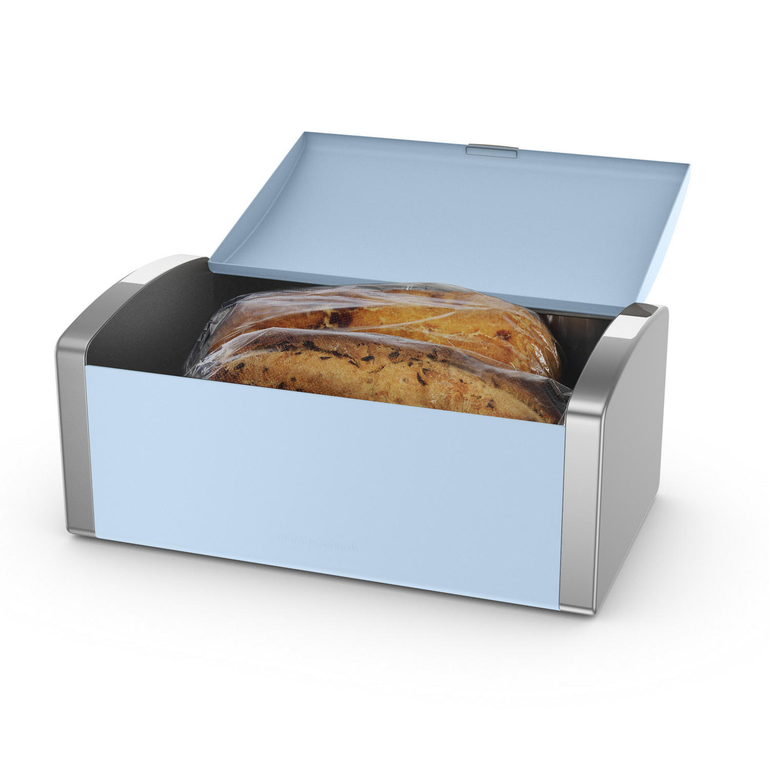 morphy richards accents bread bin azure food biscuits loaf. Black Bedroom Furniture Sets. Home Design Ideas