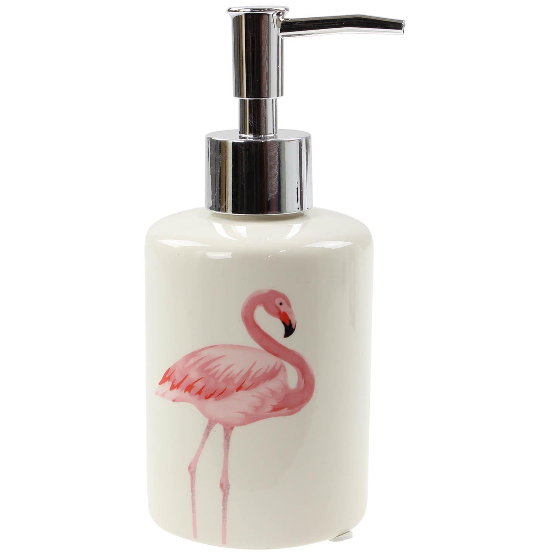 Liquid Soap Dispenser ~ Inch flamingo bathroom kitchen pump liquid soap