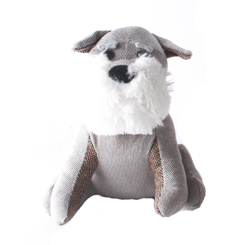 Sand Filled Stuffed Animals, Decorative Fabric Stuffed Animal Dog Doorstop Sand Filled Wedge Door Jam Stopper Ebay