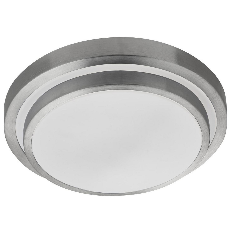 Led Light Fittings For Offices: White Bright LED Flush Ceiling Light Fitting Aluminium