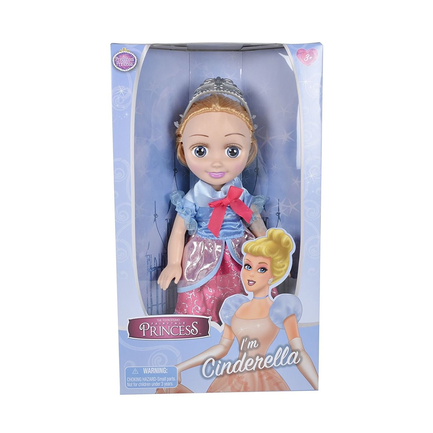 Details about Fairytale Princess Cinderella Toddler Doll Childrens Girls  Toy Fairy Tale Figure