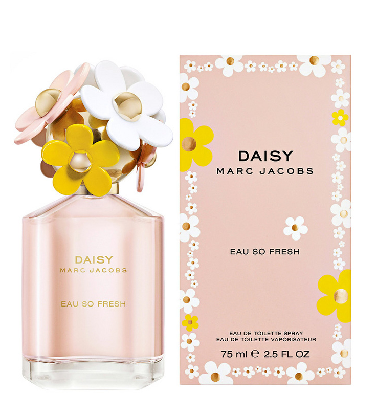 Daisy Eau So Fresh By Marc Jacobs 75ml Edt Spray Ebay