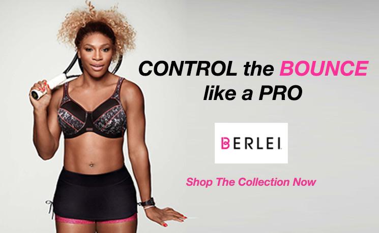 9b3a19010c Berlei Sports Bra s fit for Wimbledon Champion Serena Williams   Mio ...