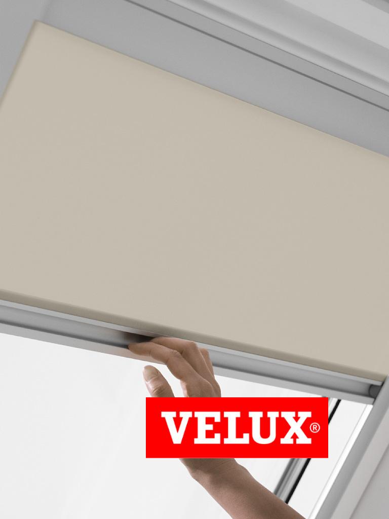 original velux sichtschutzrollos f r velux dachfenster in vielen farben ebay. Black Bedroom Furniture Sets. Home Design Ideas