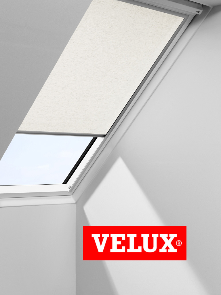 velux roller blind quality roof skylight easyfit ebay. Black Bedroom Furniture Sets. Home Design Ideas