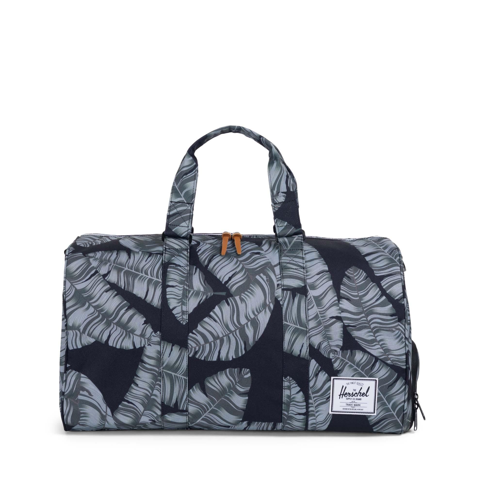 0cb8e5dd58d6 Herschel Novel 42.5 Litre Duffle Carry Bag Black Palm. Our Price  £59.95