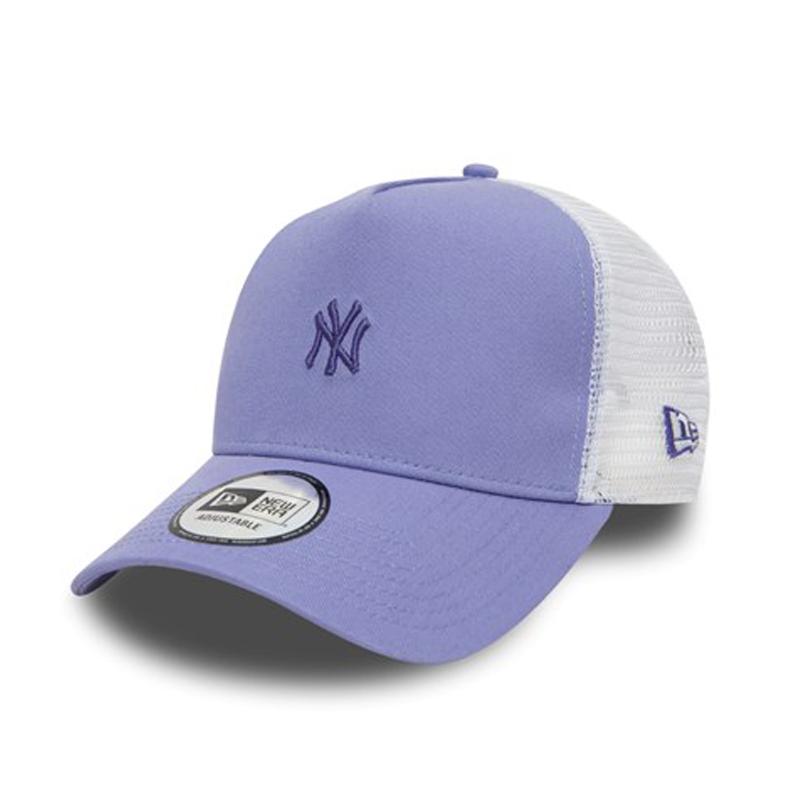 Details about New Era Women s Pastel Trucker New York Yankees Cap Purple  One Size aa3b180b4380