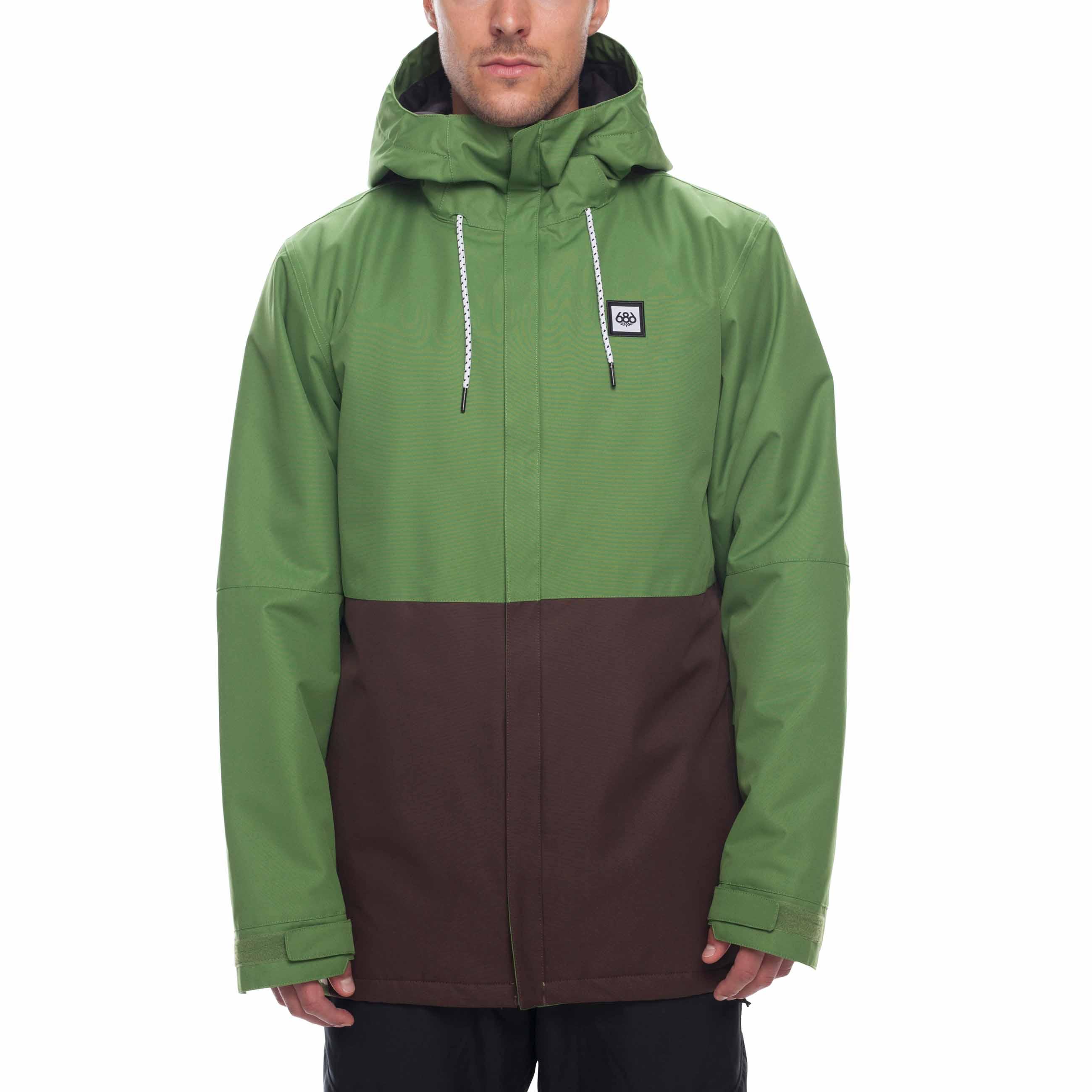 Waterproof Ski//Snowboard Winter Coat 686 Mens Foundation Insulated Jacket