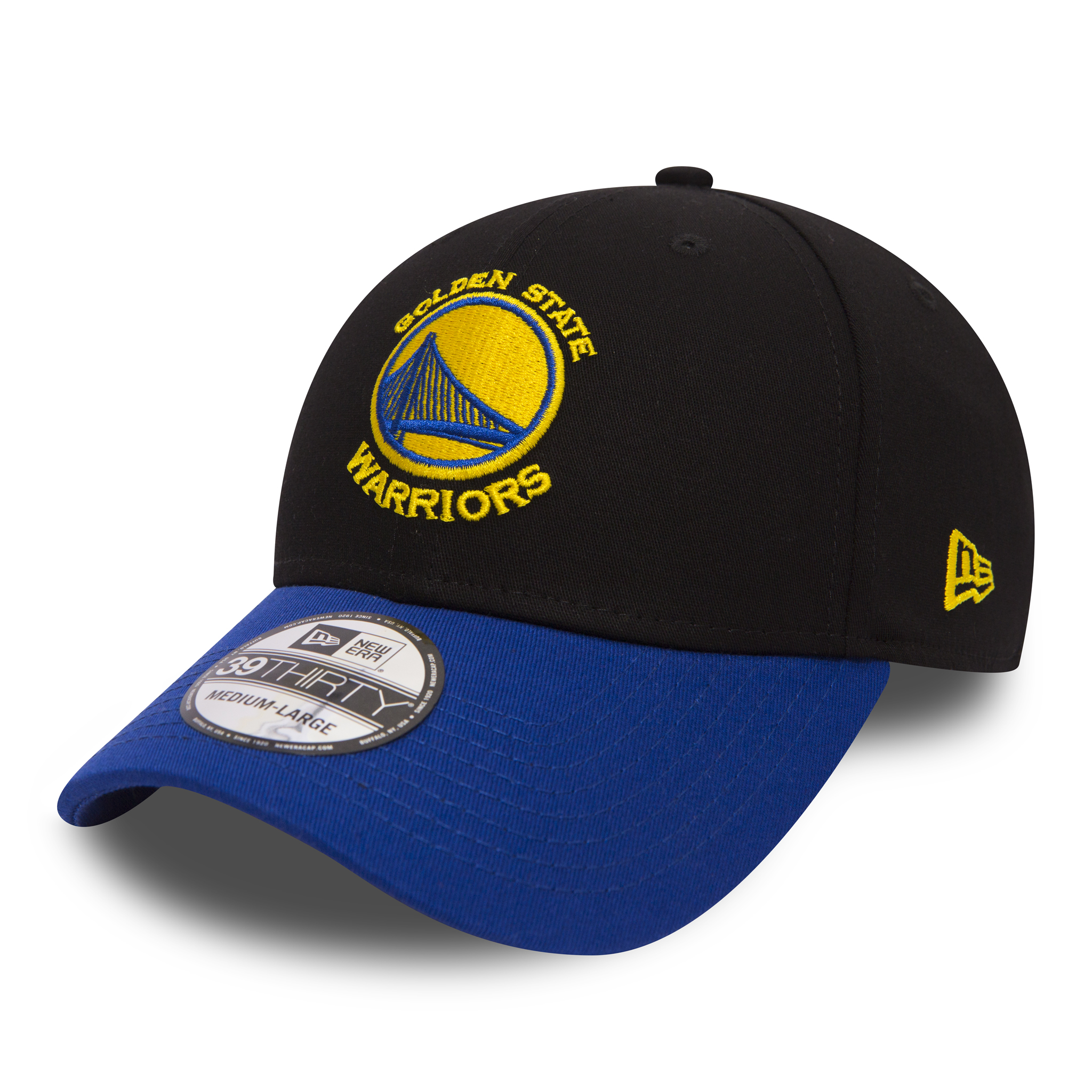 4298c0afadd8a New Era NBA Blackbase 39Thirty Golden State Warriors Snapback Cap Black OTC  SM. Our Price  £16.95