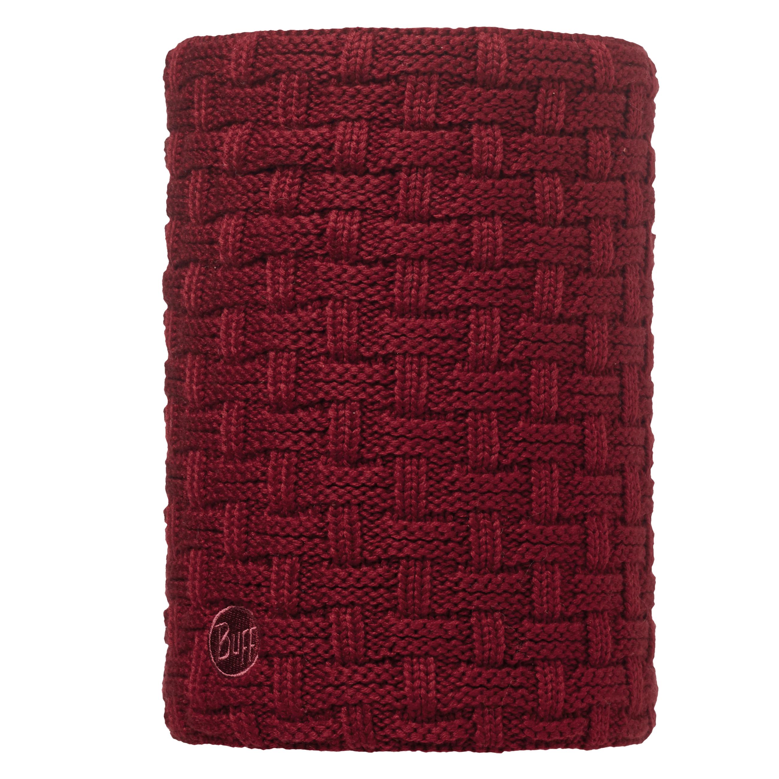 Buff Airon Primaloft Knitted Beanie Bobble Hat + Neckwarmer Wine Black - Hyped  Sports f3b374b195e4