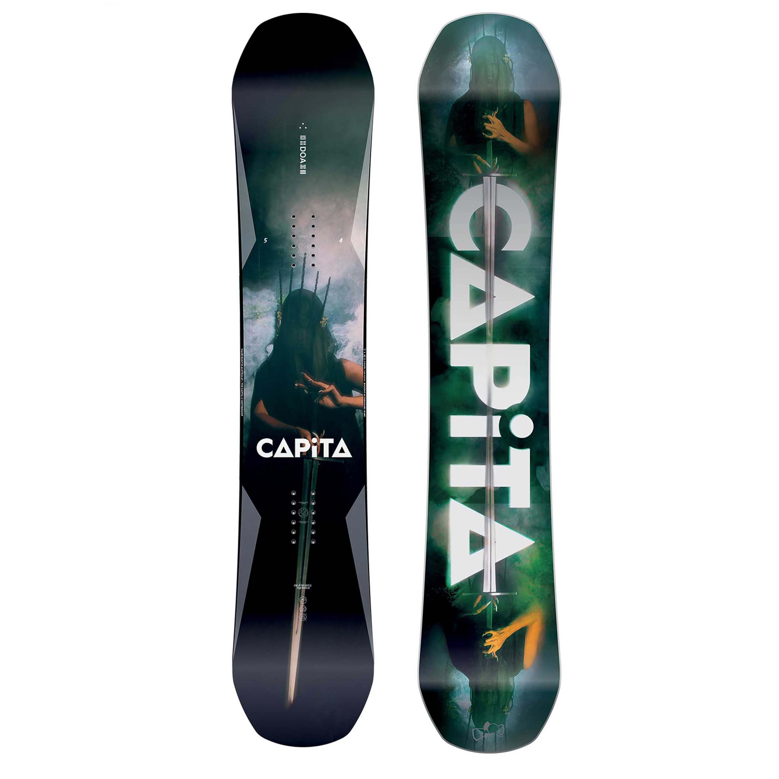 8accb09089b CAPiTA Defenders of Awesome D.o.a 2019 Snowboard 154cm for sale ...