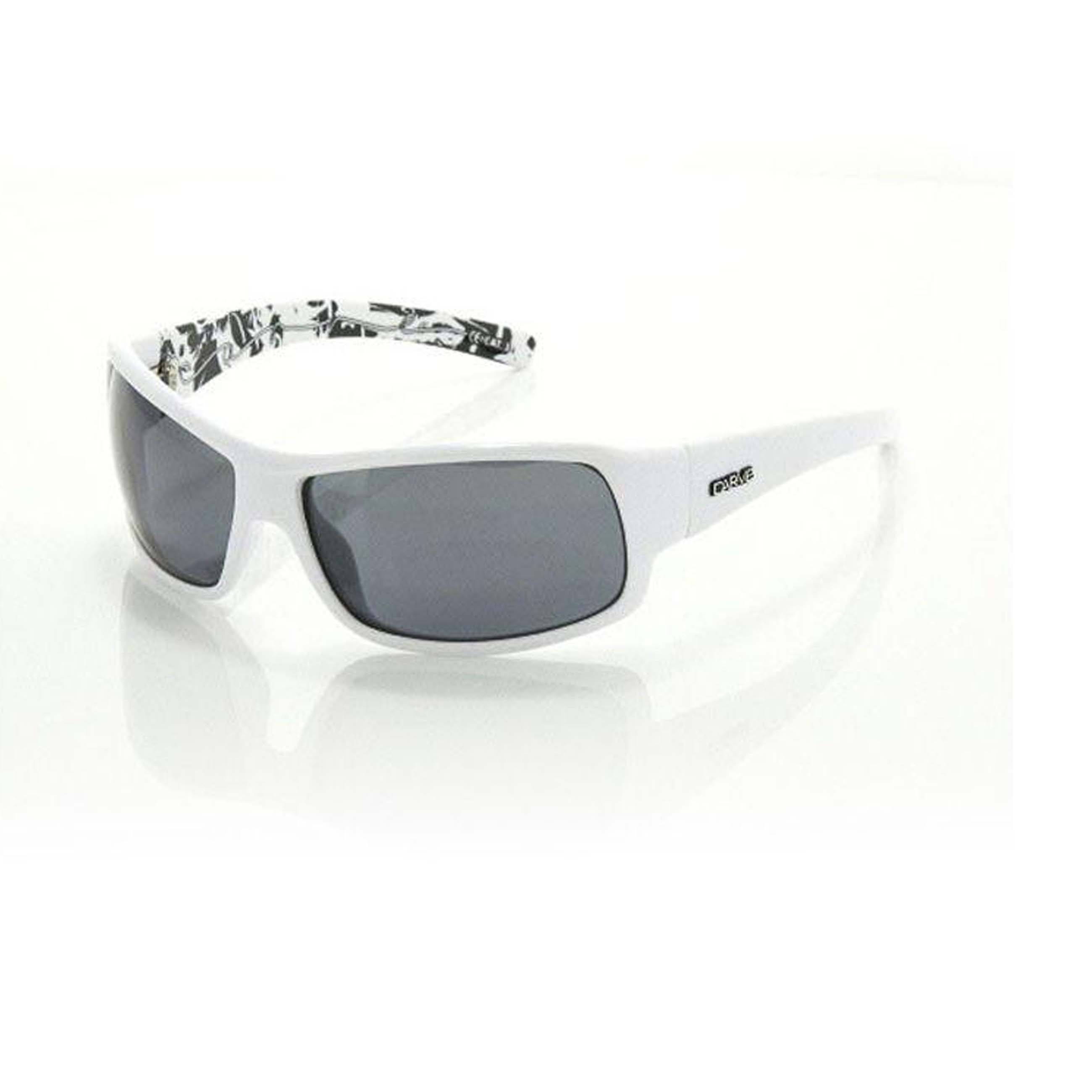 7df418df5c402 Details about Carve Sonny Black Polarized White Signature Lens Sunglasses