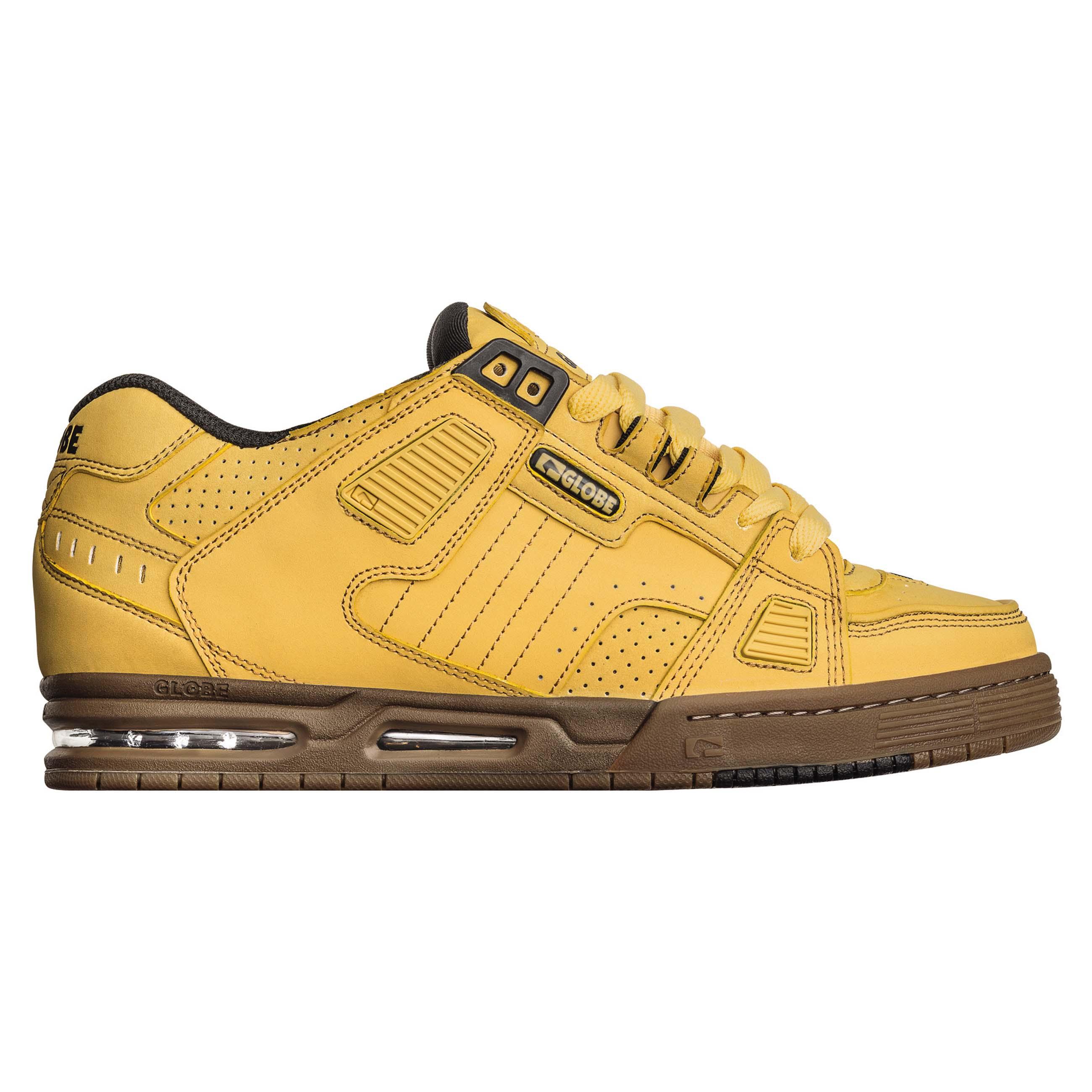 Détails sur Globe Sabre Chaussures De Skate Baskets blé tabac afficher le titre d'origine