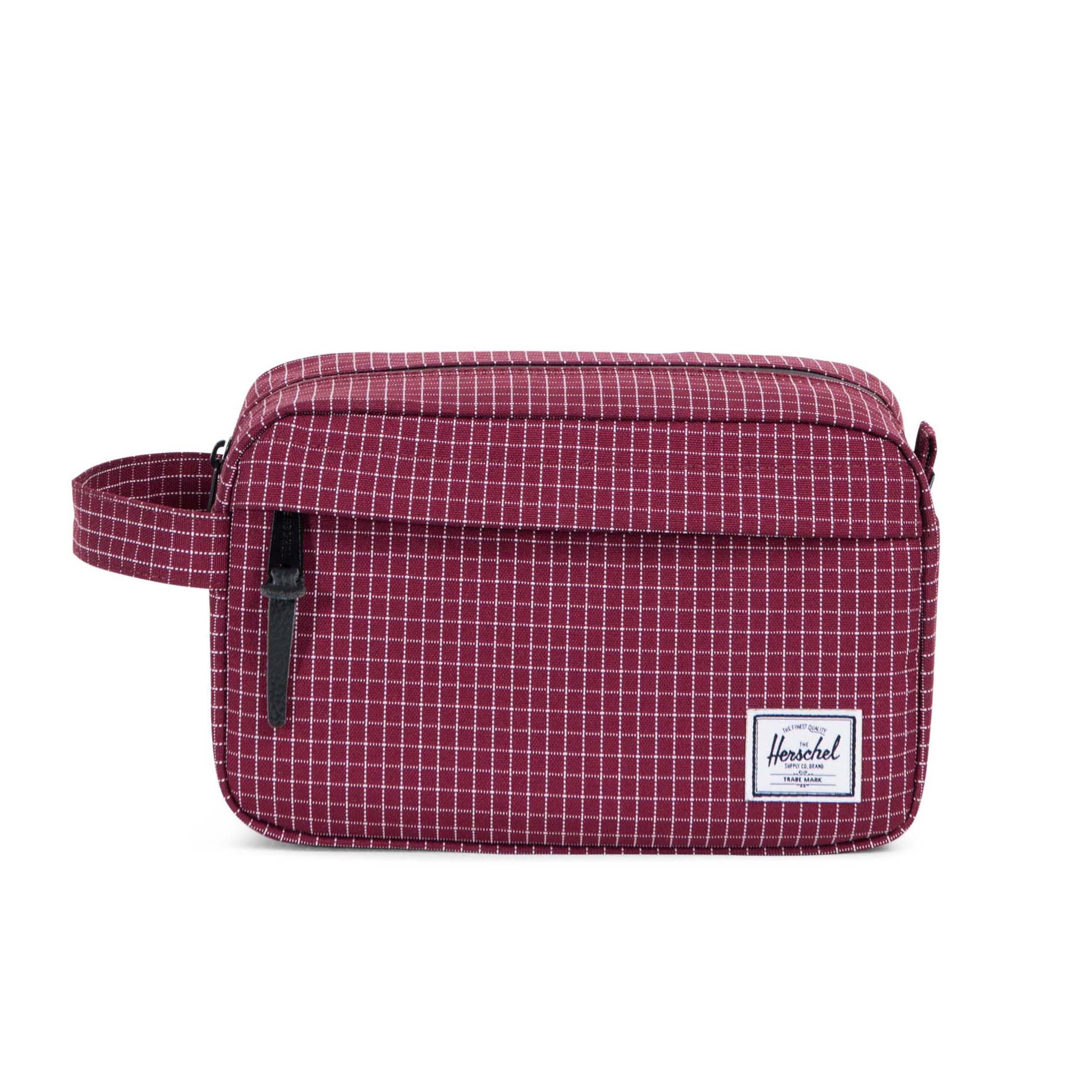 Herschel Chapter 5 Litre Travel Wash Bag Windsor Wine Grid. Our Price   £19.95 64dfbc4493806