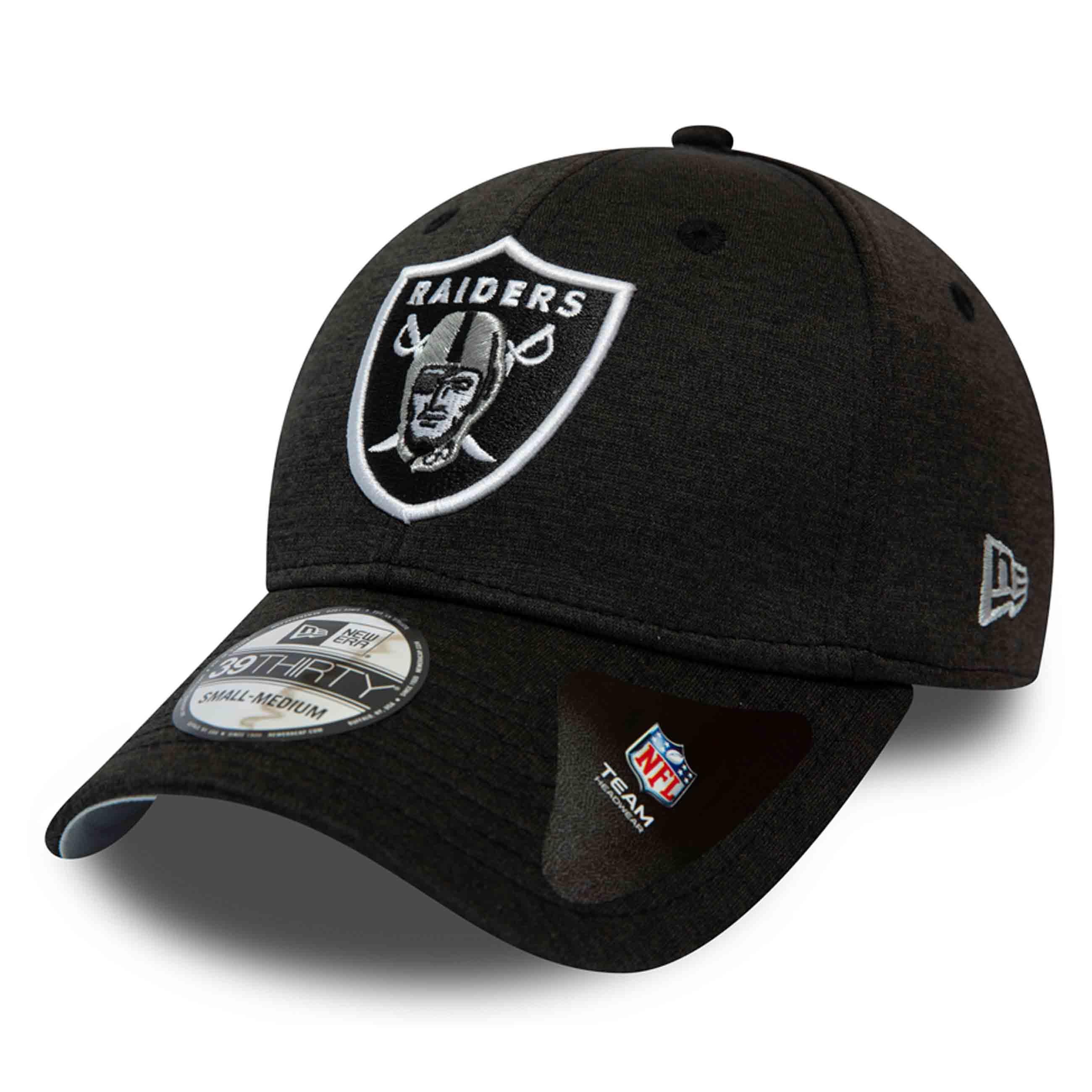 NEW Era 39 THIRTY Cap-Shadow TECH Oakland Raiders GRAPHITE