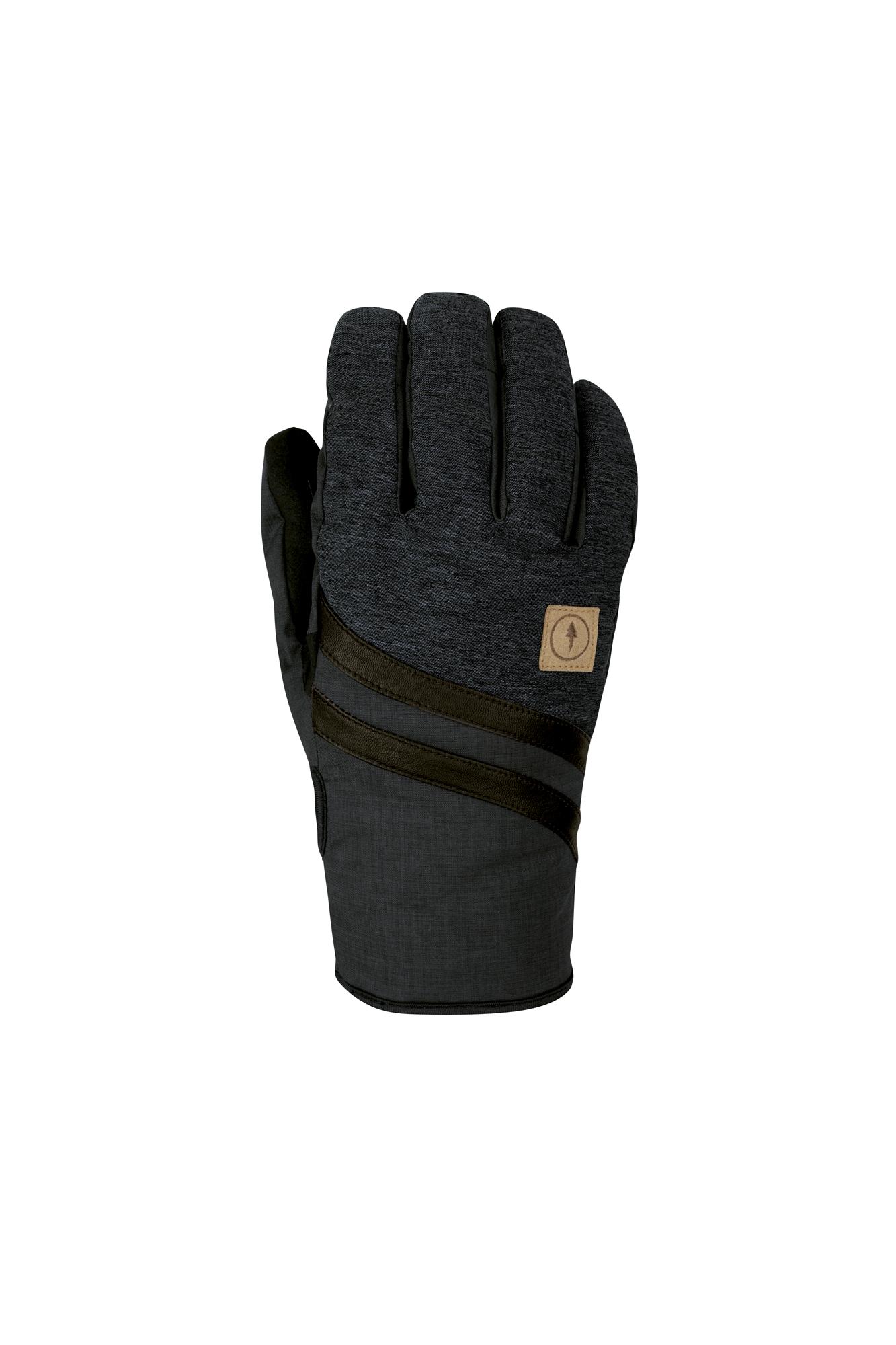 POW Zero Ski Snowboard Glove Drylight Series Black