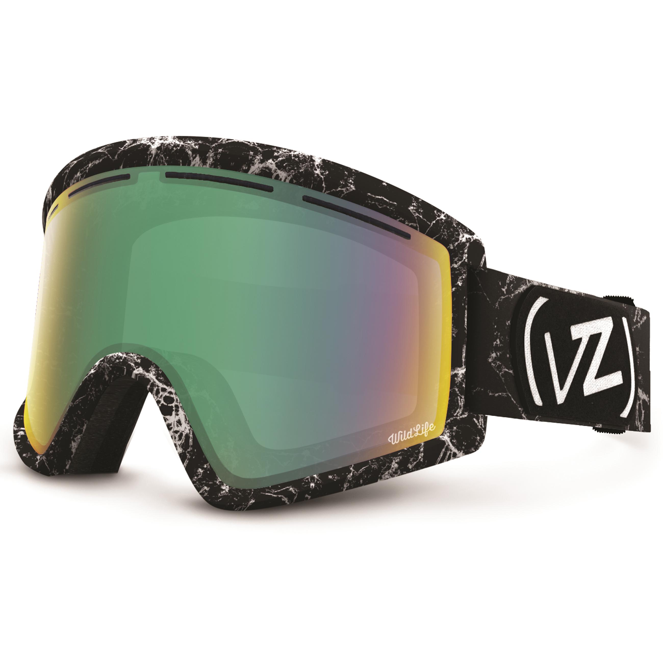 Details about Von Zipper Cleaver I-type Snow Goggles Halldor Helgason  Marble Wildlife FreeLens